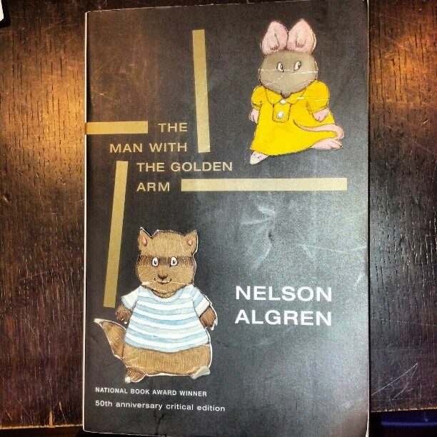 I haven't read this Algren edition, but I sure want to! ^KE #lit #books #bookstore #algren (at Open Books)