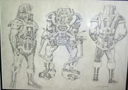 shanembailey:  Orion model sheet by Jack Kirby