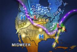 Stormier Pattern for Eastern Half of US The New England Blizzard of 2013 and a Plains blizzard may be just the start of a stormy pattern.