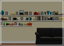 Honeywell shared a set of shelves at their Tumblr :3