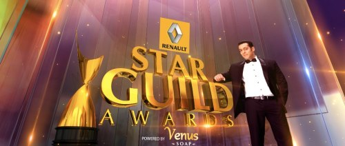 ★ Salman Khan to Host the 8th Renault Star Guild Awards 2013 (on February 16th 2013) !  * Salman Khan to host the 8th Renault Star Guild Awards 2013* @BeingSalmanKhan to host his first ever awards show.Monday, 11th February, 2013 - With just a week to go for the prestigious 8th Renault Star Guild Awards 2013, the biggest surprise awaits fans of Indian cinema as the bad boy of Bollywood, Salman Khan will take the stage to host the awards ceremony. Known to steer away from Awards show, this will be Salman's debut, hosting an awards ceremony.Come Saturday, the 16th of February, Salman will bring to the stage, a distinctive sense of humour and his signature style. Loved by millions around the world, the actor is all set to entertain his peers, members of the Film & Television fraternity and his fans at the Renault Star Guild Awards. The ceremony will also showcase spell-binding performances and announce the winners of the 8th Renault Star Guild Awards.The awards are a joint initiative by the Film & Television Producers Guild and Wizcraft International Entertainment, sponsored by Renault and powered by Venus Soaps. The awards ceremony will be telecast exclusively on Star Plus.