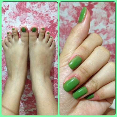 New manicure & pedicure. 💅
