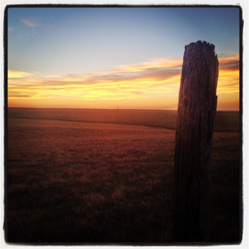 A gorgeous South Dakota sunset! #love #sunset #igers #iphonephoto #photography