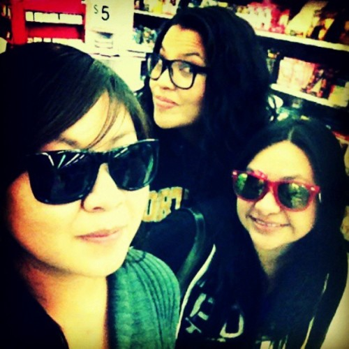 #My #Buddies! #Shopping #Fun #Smiles #Laughter #Jokes #Pictures #Posing #Shades #Glasses #Girls #Friends #Memories #GoodTimes with #goodpeople #Alumni and #CollegeGirls : )