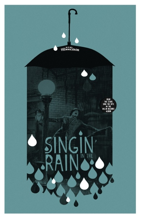 designersof:  Singin' In The Rain by Adam Juresko www.adamjuresko.com www.etsy.com/shop/theartofadamjuresko ————————get your work featured by submitting it to designersof.com