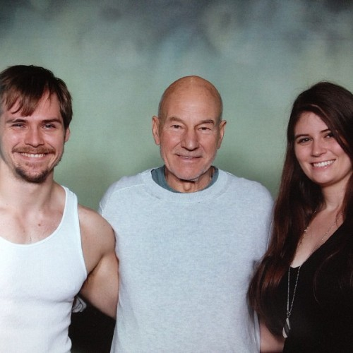 Our awfully awesome meeting Picard :)
