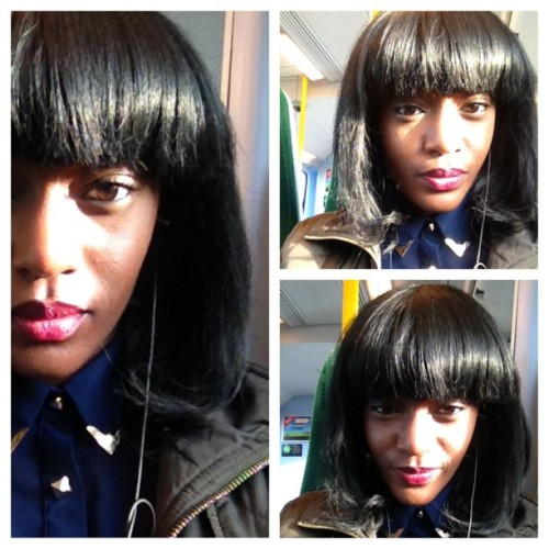 #picstitch i got snap happy on the train. Shine bright like a diamond innit 💎