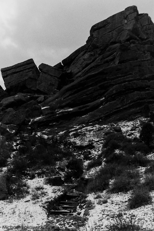 Red Rocks Park Colorado. Shot on a Nikon F100 with Ilford HP5 Plus 400. Taken by Michael Bakowski