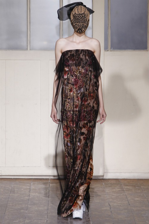 timeless-couture:  Maison Martin Margiela Haute Couture Spring/Summer 2013 See my favorite looks from this collection here