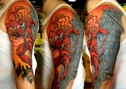 Kick ass Carnage tattoo!  Source: unknown