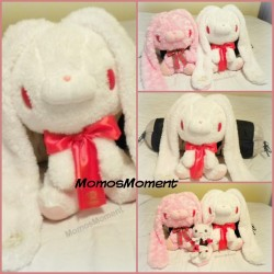 Starting up a good plushie collection, find out more from my blog post 🐰 http://momosmoment.com/new-white-gloomy-rabbit-the-start-of-my-plushie-collection/ #momosmoment #momo #kawaii #plush #plushie #gloomy #gloomybear #gloomyrabbit #japan #rabbit #bunny #bunnies #cute #adorable #toy #blog #blogger #stuffedanimal
