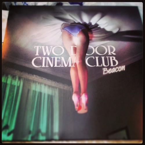 I found the #vinyl of #TwoDoorCinemaClub !!!!