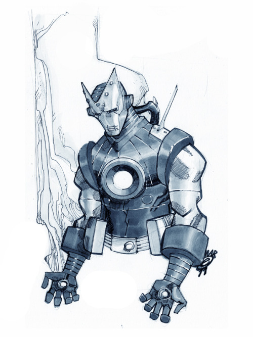 comicbookartwork:  Iron Man By Eric Canete