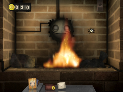 Little Inferno is an iOS game where all you do is burn stuff so you can buy more stuff to burn. No timer, no score, no winning. Just burning stuff.   update: and it's great!