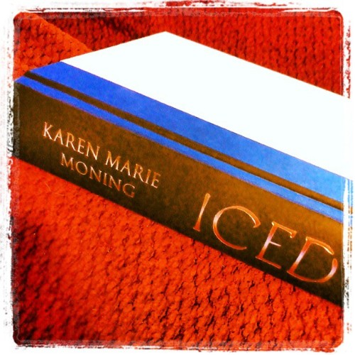 Finally started reading this! Favorite author, favorite series. #Iced #KMM