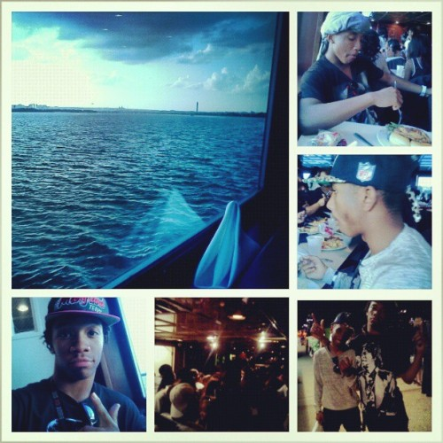 Senior Cruise Yesterday Was Too Hype!! It Was Better Than Prom!! #2013 #LoveMyNiggaz