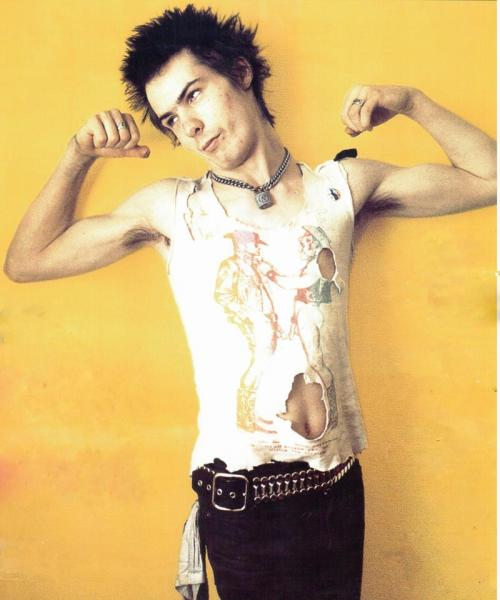 in-the-wall:  Sid Vicious (Sex Pistols)
