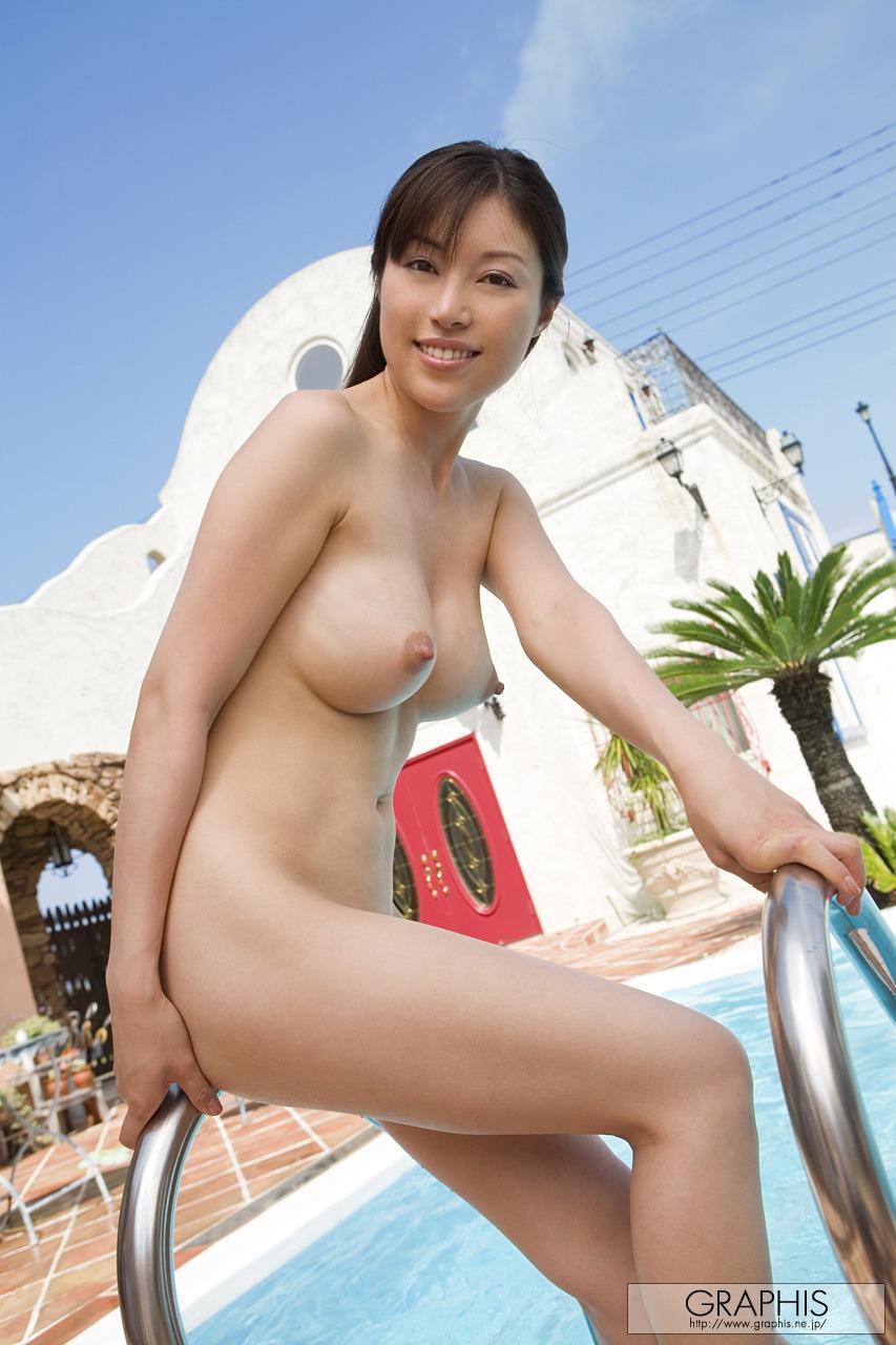Akane Nagase - Bikini and wet naked body