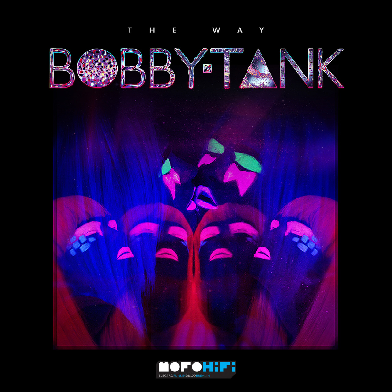 "REVIEW ➮➫➬➭ THE WAY EPSTARRING ➮➫➬➭ Bobby TankThe london producer Bobby Tank releases via MofoHifi Records the follow up of his 2012 debut ""Afterburn ep"". 6 tracks of classy maximalism that merges the best bass, trap and glitchy beats. The atmospheres in ""The Way"" are relaxed in contrast with the frenetic textures of the vocal samples, Rustie a-like.The scottish LuckyMe influences are also strong in ""Waterphone shadows"", delicious liquid bass track. The big massive synths always present in the record are warm and 80ish and reminds me of the mood of ""Reaching Out"" the 2011 NERO 's single: this is clear in the song ""Glass Moon"" that you can download for free via XLR8R .Bobby Tank is an emotional version of our crunk favs Sinjin Hawke, Cosmic Revenge , Rustie , Hudson Mohawke. You'll love this.8.0 ☺ / 10.0 ☺"