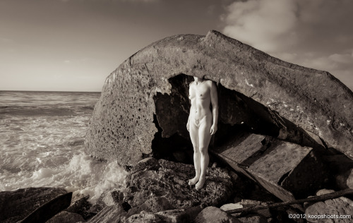 koop-shoots-nudes:  End of the World As We Know It Model - Rebel Smith Photo - Koop