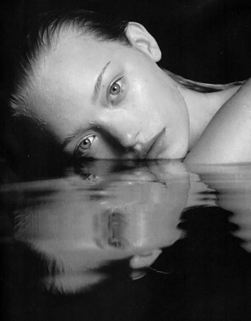 "Gemma Ward by Mario Sorrenti for Calvin Klein's ""Obsession Night"""