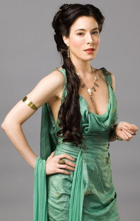 I suck at art so so badly, so here's a picture of Jaime Murray. (I hope this is inspirational enough.) Happy Valentine's Day! And I hope your day is as perfect as she is, because you are without a doubt, excellent! ^_^  (submitted by the ever excellent Roseama35!)