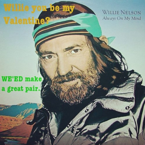 Here is a thing I made that didn't turn out how I wanted it to. #willienelson #valentines