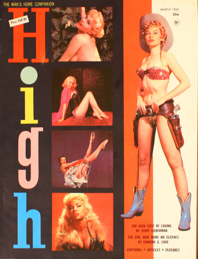 theniftyfifties:  Lili St Cyr on the cover of High, March 1959.