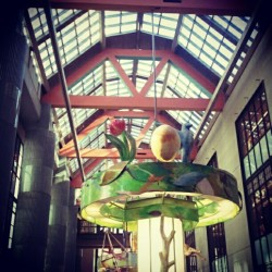 #library ceilingd(^ v ^*) #somewhere  (at Los Angeles Central Library)