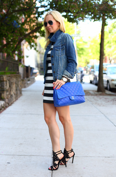 labellefabuleuse:  Fashion blogger Helena of Brooklyn Blonde…