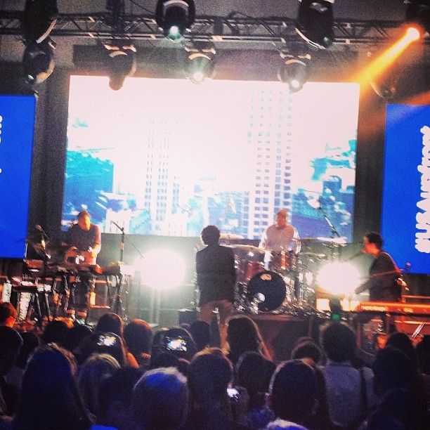 And then Passion Pit played. #passionpit #upfronts #suits #nyc