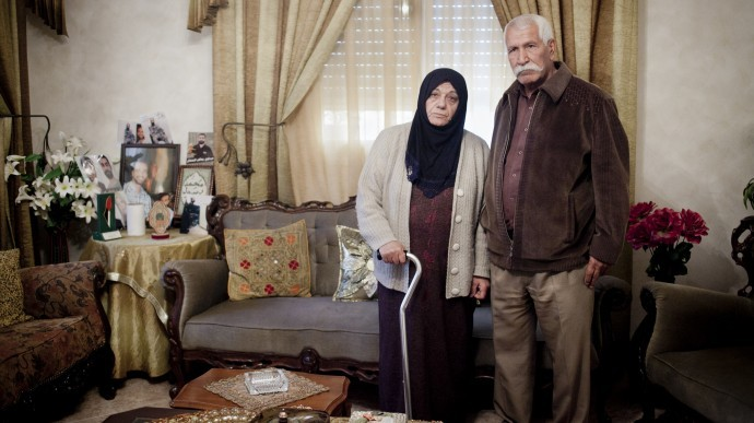 Laila and Tariq Issawi, Samer Issawi's parents, in their home, Jan. 4, 2013. (Photo/Shiraz Grinbaum). Palestinian Prisoner Samer Issawi In Critical Condition: Exclusive Interview With Sister http://www.mintpress.net/palestinian-prisoner-samer-issawi-in-critical-condition-interview-with-sister/