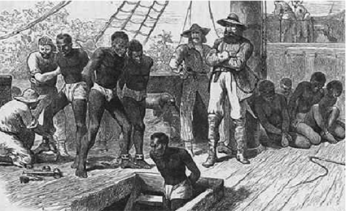 Comparing the voyages of slaves and