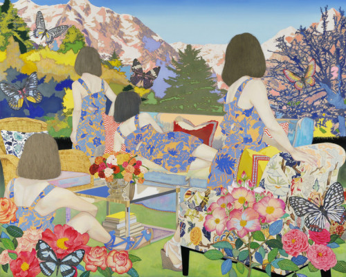 Naomi Okubo - H.P.FRANCE WINDOW GALLERY MARUNOUCHI.
