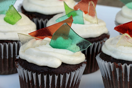 Stained Glass Cupcakes by Kelly.Garsha on Flickr.