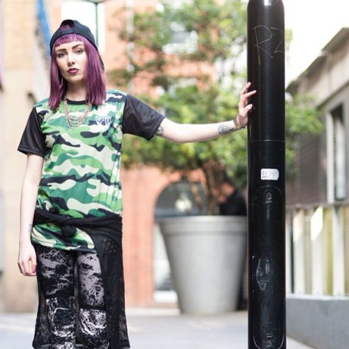 F2D CAMO MESH TEE. Model: @kittycowell. Photography @samxtrav http://theunisexmode.tumblr.com/ #streetwear #camo #mesh #tee #kittycowell #f2dclothing #f2d #fashion #style #love #family #us #hiphop #igstyle #instafashion #streetstyle #UK #ukfashion #dope #outnow #summer #ss13 🇬🇧🇬🇧🇬🇧