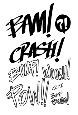 Tumblr, let me letter all your comics because lettering is amazingly fun for me.