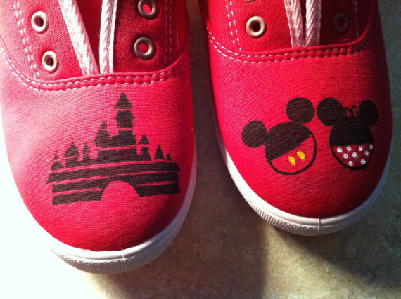 disneythis-disneythat:  These are so simple and so adorable! Buy them here and check out the other items she has available! :)