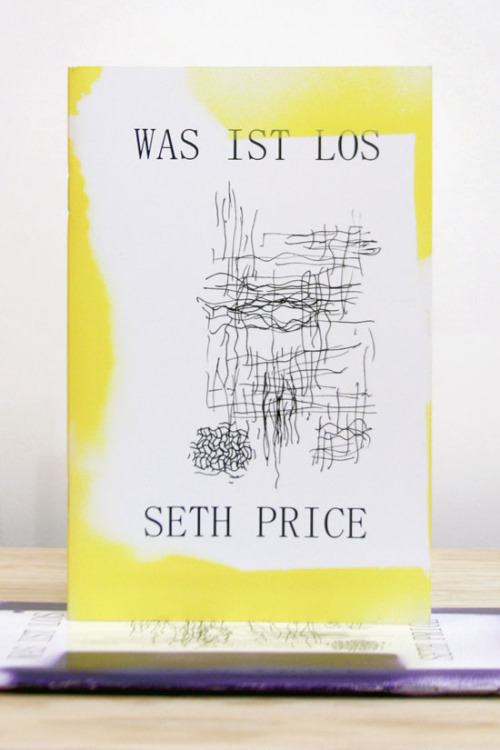 "shopkarma:  SETH PRICE, WAS IST LOS ""IT IS POSSIBLE THAT CULTURED PEOPLE ARE MERELY THE GLITTERING SCUM THAT FLOATS UPON A DEEP RIVER OF PRODUCTION."" 38TH STREET PUBLISHERS, NEW YORK, 2010 8 ¾ X 5 INCHES (22.2 X 12.7 CM) $20 PURCHASE"