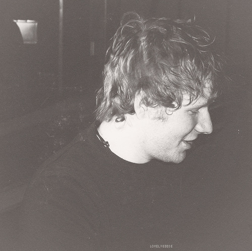 Ed Sheeran outside of the Tabernacle in Atlanta, 1/21/13 (photo by eyes-like-wildflow3rs)