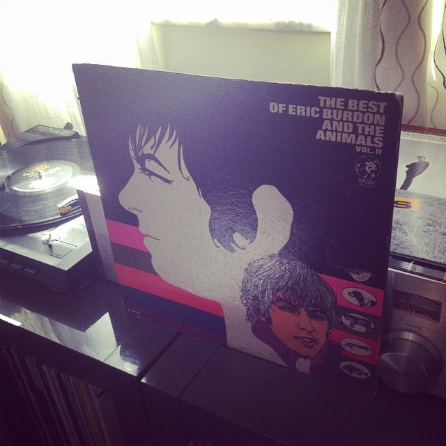 They rule!!! the Animals Best Of Vol 2..#vinyl ,#recordclub ,#nowplaying