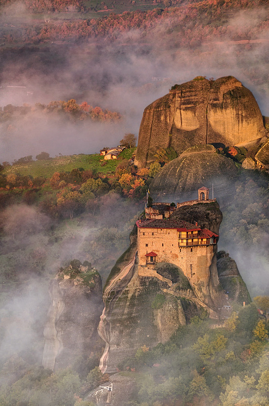 allthingseurope:  Meteora, Greece (by Mary Kay)