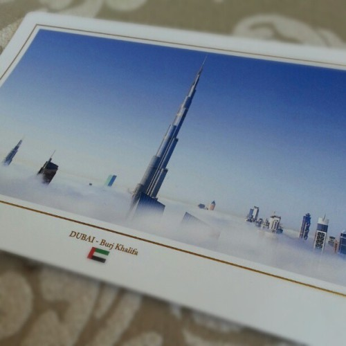 #postcard #UAE #Dubai #city #BurjKhalifa #tallest #building in the #world #skyscraper over #clouds #cool #photo #architecture #abstract #beautiful #lines #art #بطائق #instagood #follow #like #iphonesia #دبي #jj #برج_خليفة #instapostcard #الإمارات #wow (at AT THE TOP, Burj Khalifa)