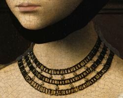 Petrus Christus, Portrait of a Young Girl (detail)
