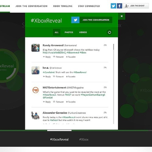 Not a fan of #Xbox, but the design of the #XboxReveal landing page and #Twitter feed is pretty nice.