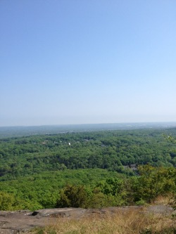 joeybugles:  View from the top of Sleeping Giant in Hamden, CT
