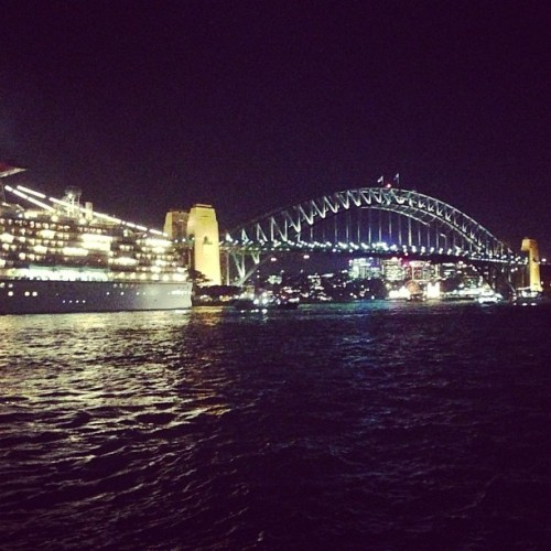 Our setting for dinner this eve. #Sydney