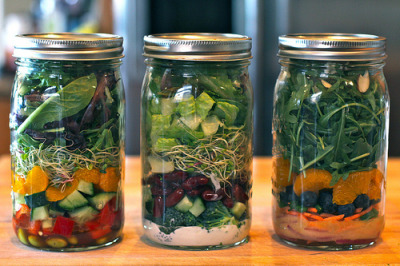 tealates:  Salads in Jars