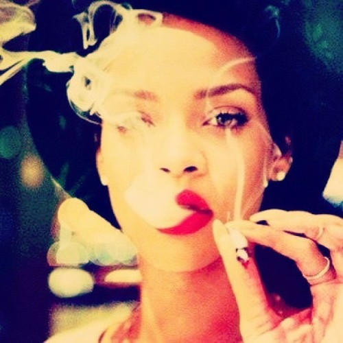 everythinghasalittlebeauty:  badgalnira, badgalriri, instagram, red lips - inspiring picture on Favim.com on We Heart It - http://weheartit.com/entry/60973393/via/lenalangeland   Hearted from: http://favim.com/image/709863/