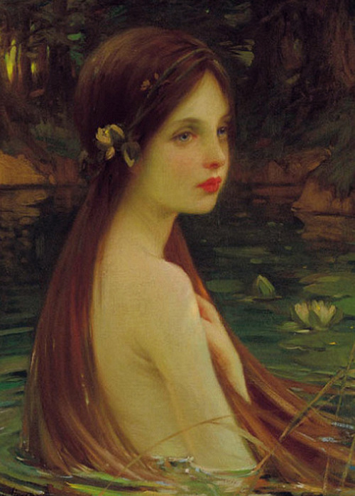 "c0ssette:  William Samuel Henry Llewellyn ""Waterbaby"" 1910."